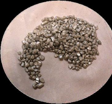 Dekorativní kameny perleť