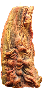 Svíce reliefní Lesůpán