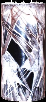 Svíčka válec Maxi 5 knotů