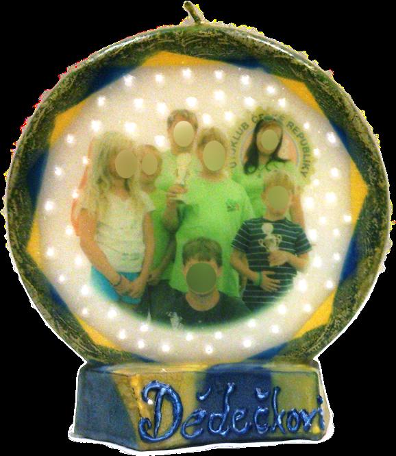 Svíčka kruh foto