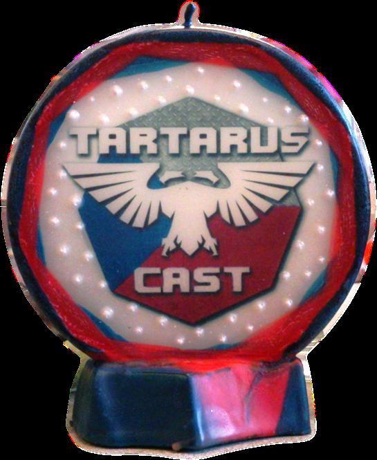 Svíčka kruh logo Tartaruscast nové