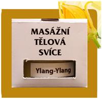 Tělová masážní svíčka YLANG YLANG velké balení